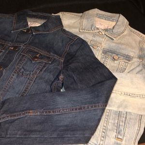 2 pc bundle old navy jeans jackets NWOT size s